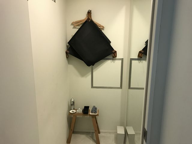 FiNCFit更衣室