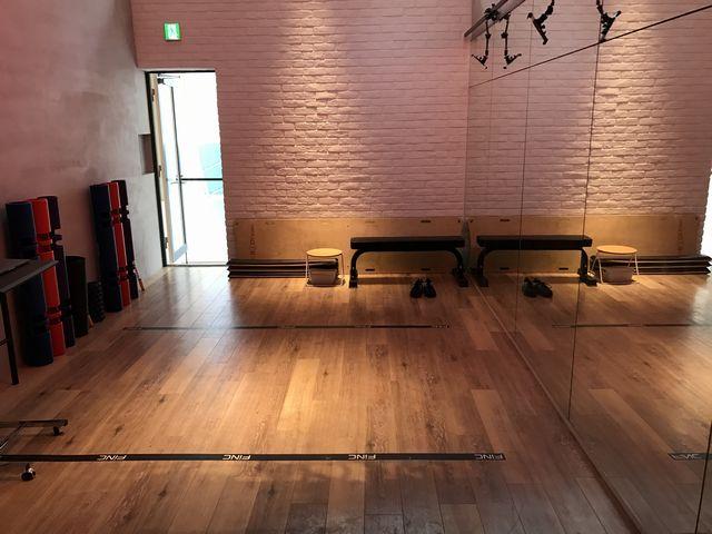 FiNCFitトレーニングルーム