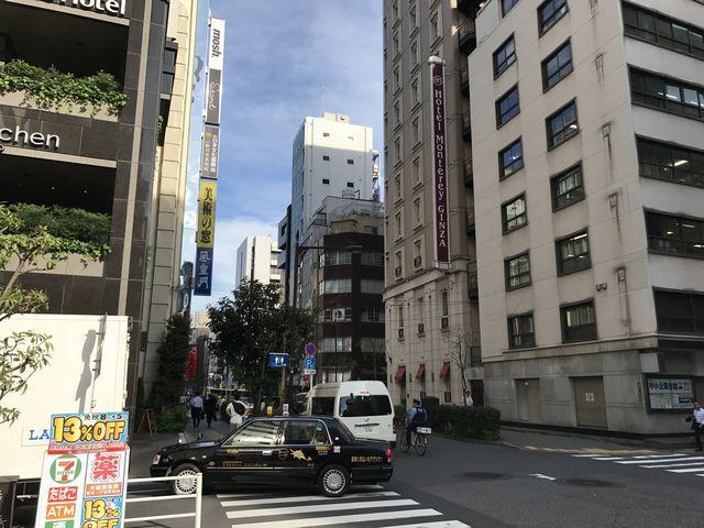 FiNCFit銀座店道順3