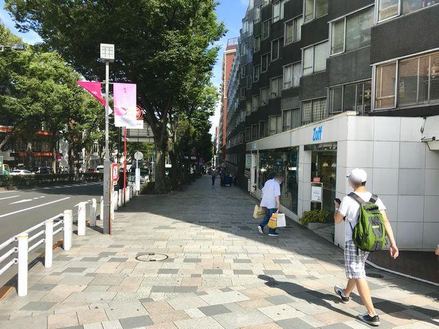 FiNCFit原宿店道順5