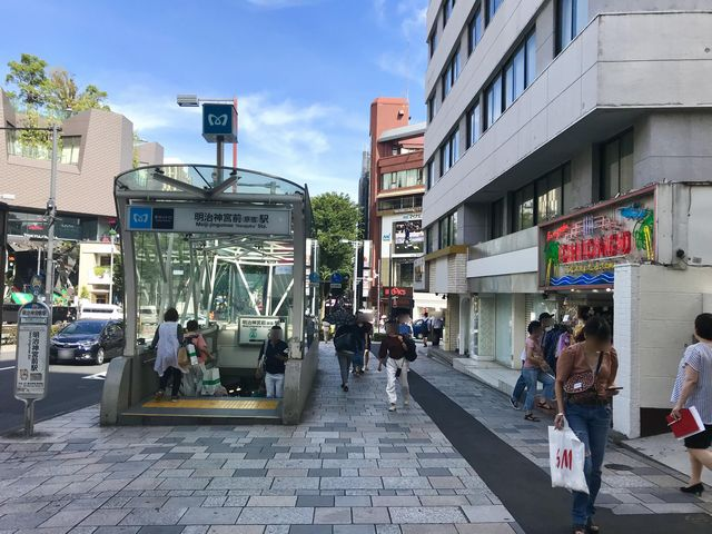 FiNCFit原宿店道順6