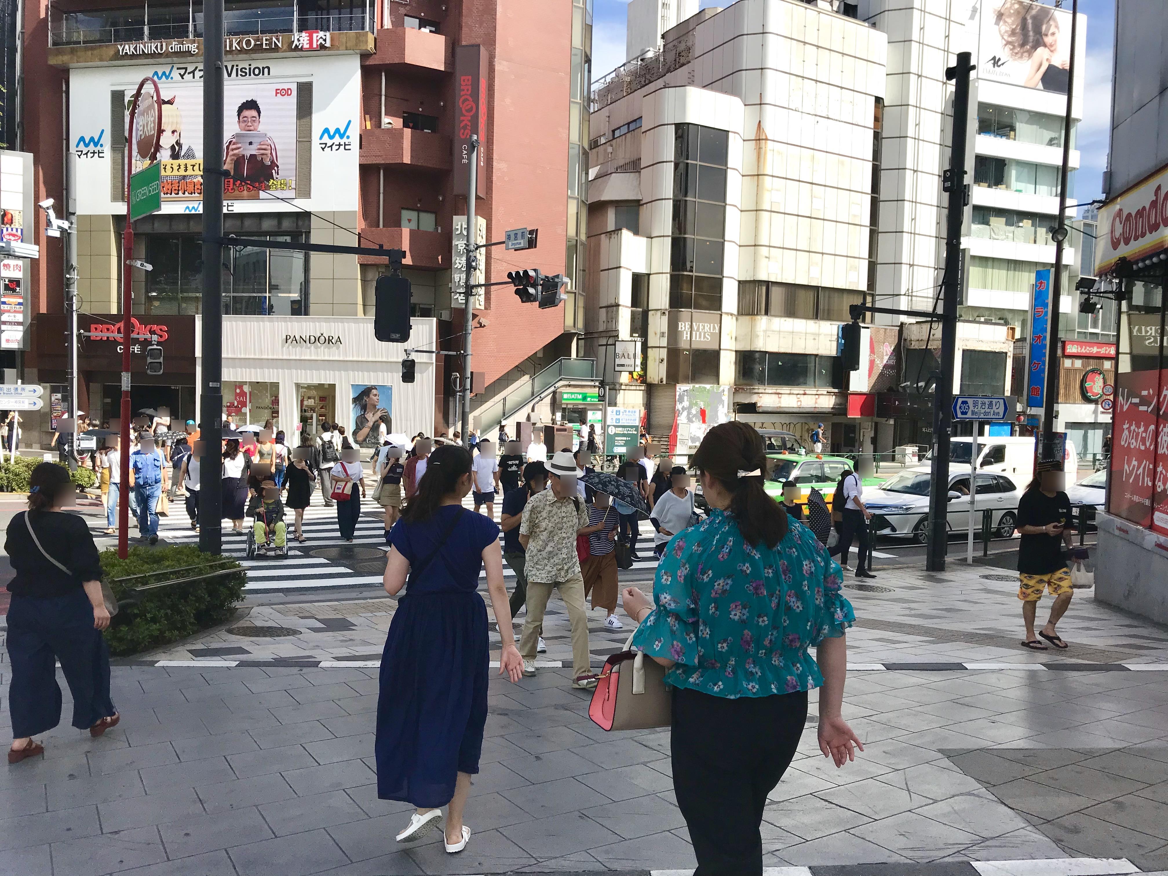 FiNCFit原宿店道順8